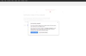 Google Security Trust Computer