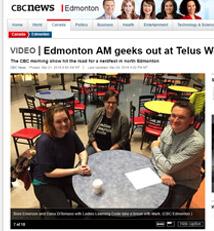 CBC Edmonton Radio March 2016